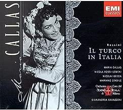 Rossini: Il Turco In Italia complete opera with Maria Callas, Nicolai Gedda, Gianandrea Gavazzeni, Chorus & Orchestra of La Scala, Milan