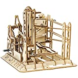 ROKR 3D Puzzle Wooden Marble Run Model Kits Birthday Gift for Teens and Adults