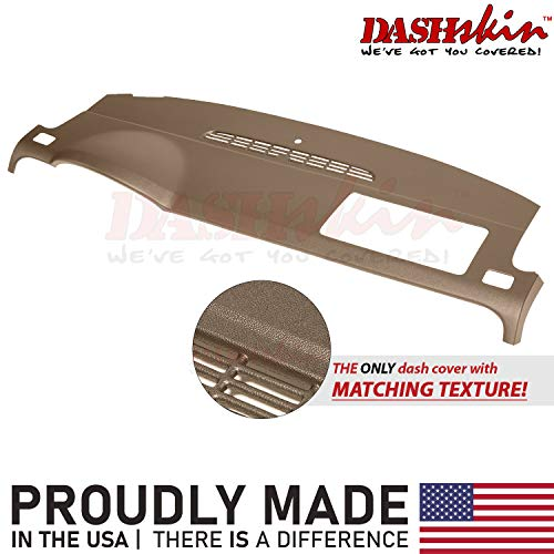 DashSkin Molded Dash Cover Compatible with 07-14 GM SUVs w/o Dash Speaker in Cashmere (USA Made)
