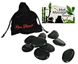 Luxury Hot Stones Massage Set (9 stones Provided) - Your very own Spa Treatment at Home - ...