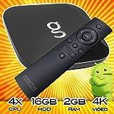 Matricom G-Box Q [v3] Android TV Streaming Media Mini PC [2GB/16GB/4K UHD/3D/BT/5G WiFi] Quad+ Core