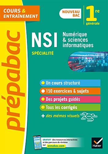 Numérique et sciences informatiques 1re (NSI) - Prépabac: nouveau programme de Première 2019-2020