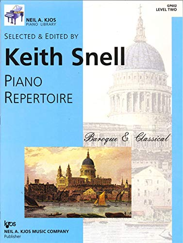 GP602 - Baroque and Classical - Piano Repertoire - Level 2
