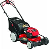 Troy-Bilt TB110 140-cc 21-in Residential Gas Push Lawn Mower with...