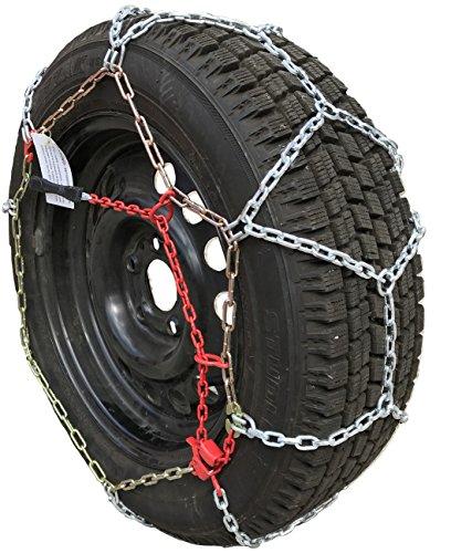 TireChain.com 245/50R20, 245/50 20 TUV Diamond Tire Chains Set of 2