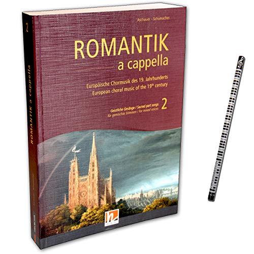 Helbling 9783990357125 Romantik a cappella Band 2 : chansons de Chormusique européenne du 19ème siècle pour les voix mélangées