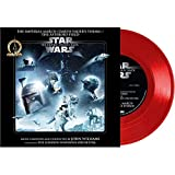 Star Wars - The Imperial March (Darth Vader's Theme) / The Asteroid Field - Exclusive Limited Edition Red Colored 7' Vinyl LP