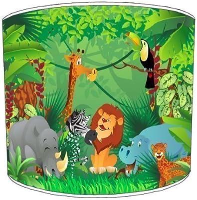 Premier Lighting Zoo Jungle Animals Childrens Abat-Jour - 12 inch pour Un plafonnier