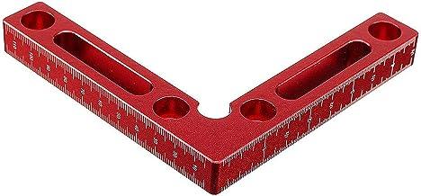 Tratamiento de la madera Regla de sierra Actualizar aleación de aluminio de 90 grados 120x120mm precisión de sujeción de la madera plaza maquinista Plaza Posicionamiento de Red Plaza Carpintería de al