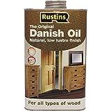 Rustin's (DANO250) - Aceite danés - Interior y exterior - Para todo tipo de madera - 500ml