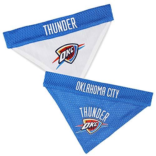 NBA Hundeleine, NBA Hundehalsbänder, NBA Bandanas, NBA Betten, 25 Basketball-Teams erhältlich, Oklahoma City Thunder, Large/X-Large, Oklahoma City Thunder
