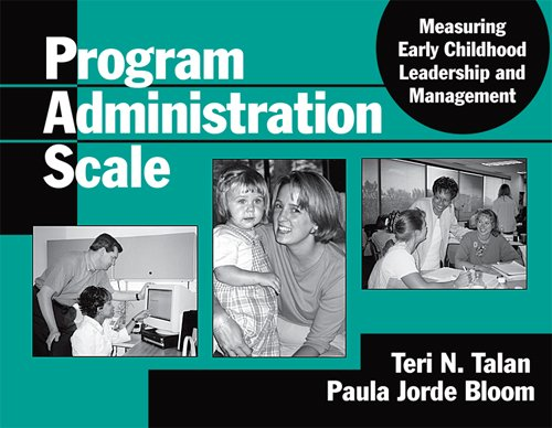 Program Administration Scale: Measuring Early Childhood...