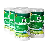 Duck Brand Bubble Wrap Roll, Original Bubble Cushioning, 12' x 180', Perforated Every 12'