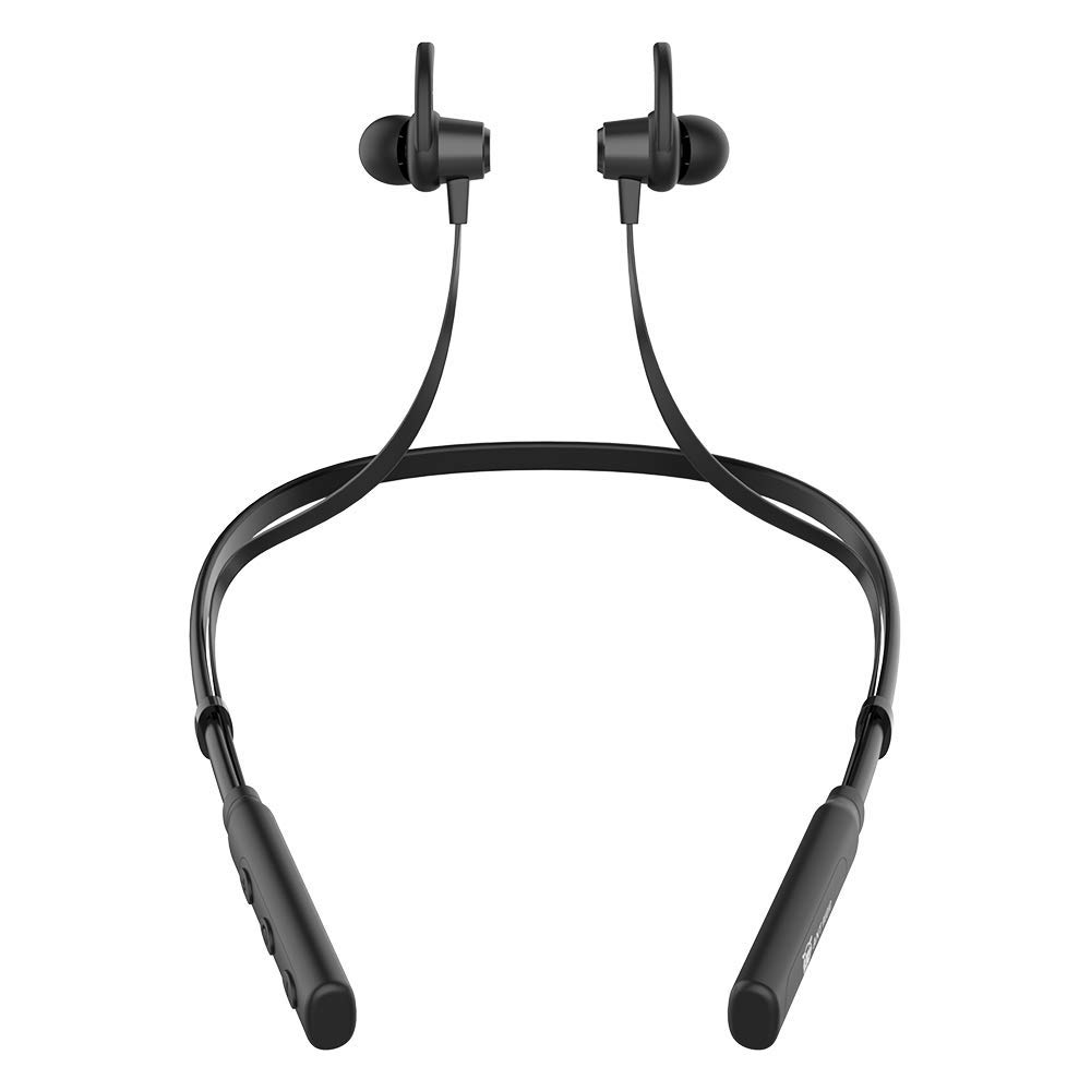 Ant Audio Wave Sports 515 Neckband Bluetooth Headset with Mic Upto 12hrs Playtime - (Black)