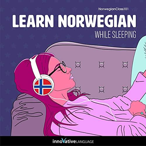 Learn Norwegian While Sleeping cover art