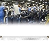 【𝐂𝐡𝐫𝐢𝐬𝐭𝐦𝐚𝐬 𝐆𝐢𝐟𝐭】 編み機ピンコーム、プロフェッショナル3.7cm /1.5in幅44.7cm / 17.6in長さキャストオンコーム、KH860 KH880KH868編み機用