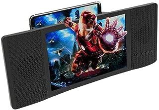 Kobwa Loupe d'écran de 20,3 cm avec haut-parleur audio pour smartphone, téléphone intelligent 3D rétractable HD écran amplificateur de radio FM Vidéo Vidéoprojecteur Support USB & Lecture de carte TF