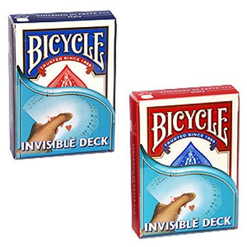 SOLOMAGIA Mazzo Invisibile - Invisible Deck Bicycle - Dorso Blu - Mazzi truccati