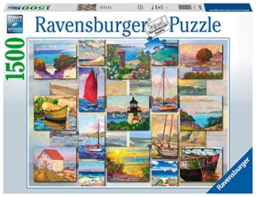 Ravensburger 16820 Coastal Collage 1500 Teile Puzzle für Erwachsene & Kinder ab 12 Jahren