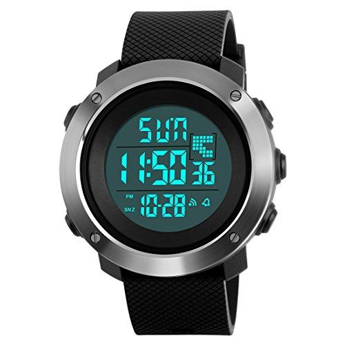 SKMEI Sports Digital Black Dial Men's Watch - SkmeiMW47