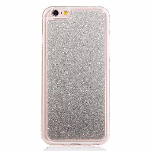 MUTOUREN iPhone 6 6S Caso,iPhone 6 6S Funda de movil Silicona Funda la Caja del teléfono TPU Resistencia a la caída de Silicona Concha,Calidad Alta Moda Cambio Gradual Matorral Shell Soft - Negro