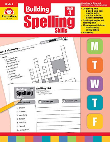 Compare Textbook Prices for Building Spelling Skills, Grade 4 Teacher ed. Edition ISBN 9781557998422 by Evan Moor