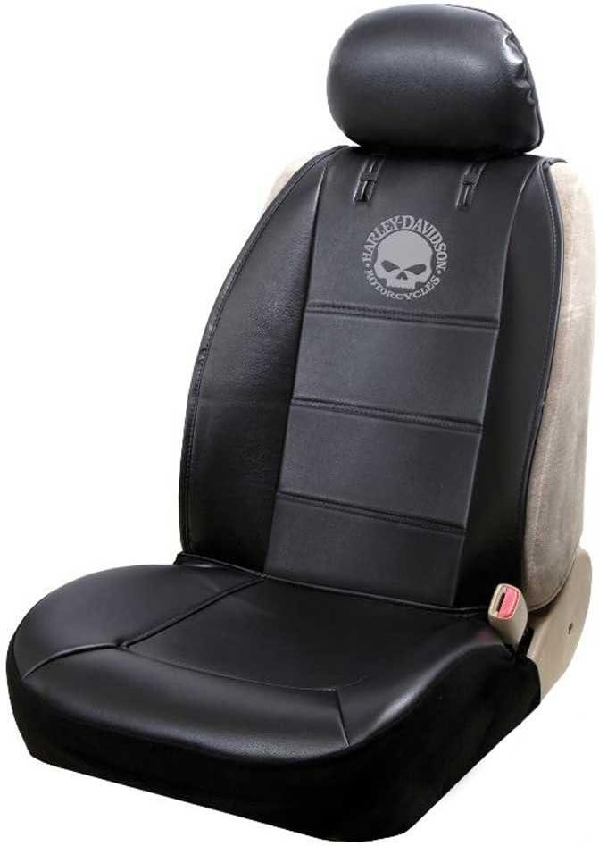 Harley-Davidson Willie G. famous Skull Logo - Cheap mail order shopping Cover Sideless Black Seat