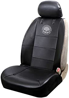HARLEY-DAVIDSON Willie G. Skull Logo Sideless Seat Cover Black - Single PC8596