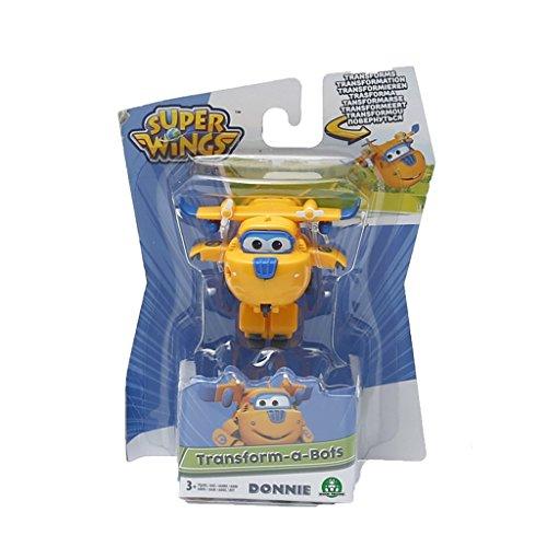 Giochi Preziosi - Donnie, Aereo Robot Personaggio Trasformabile Articolato, Alto 5 cm