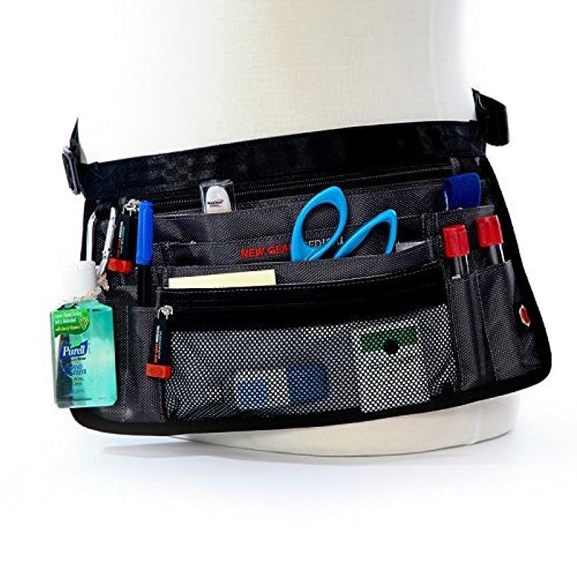 Medical Gear Hip Bag Antimicrobial, Nurse, Homecare, Medical Organizer Belt, Grey
