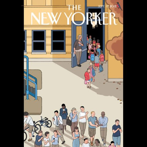 The New Yorker, September 17, 2012 (Steve Coll, David Makovsky, Nicholas Dawidoff) cover art