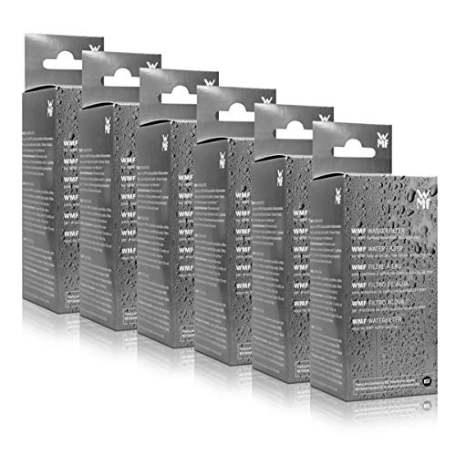 6x WMF Wasserfilter für Kaffeevollautomaten 1000 pro