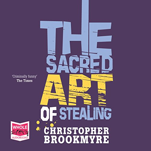 The Sacred Art of Stealing cover art