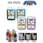 Trade Chemicals FRESH PET ECO Refill to make 4x5L Kennel, Cattery, Pet Disinfectant, Cleaner (TROPICAL PACK) 9