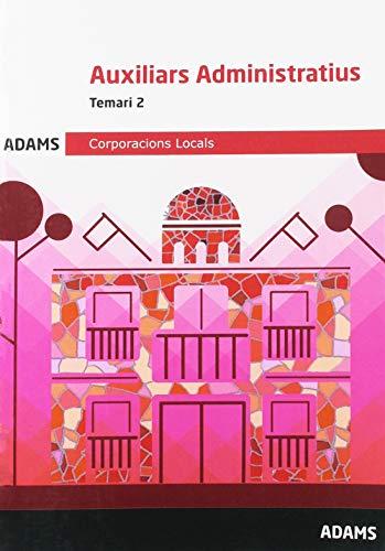 Temari 2 Auxiliars Administratius Corporacions Locals de Catalunya