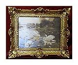antico quadro sacro Splendido quadro barocco anticato Repro cornice immagine gondola