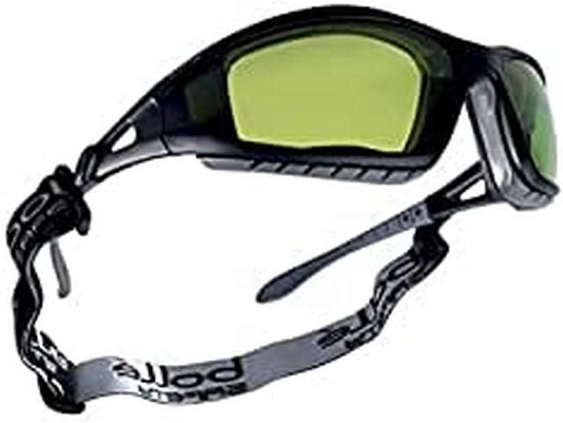 Bollé TRACWPCC2 - Pantalla de soldadura para gafas de seguridad, color negro, talla única