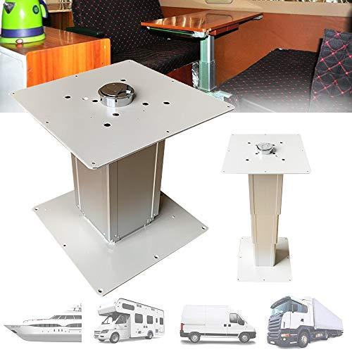 Tischplatte für Wohnwagen/Wohnmobiltisch, Tisch aus Aluminiumlegierung mit Pneumatischem Heben, Innenausstattung für Wohnmobile, Boote, Wohnwagen, Lieferwagen, Wohnmobile, Tatami