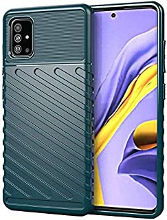 MOKO Samsung Galaxy A71 Case Flexible High Protection Green