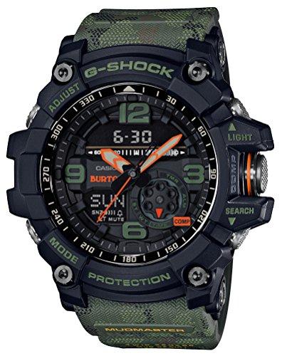 [カシオ] 腕時計 ジーショック MUDMASTER BURTON コラボレーション モデル GG-1000BTN-1AJR メンズ