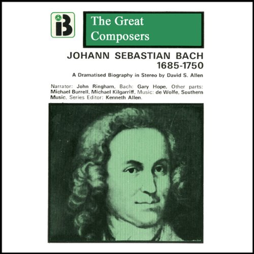 Johann Sebastian Bach audiobook cover art