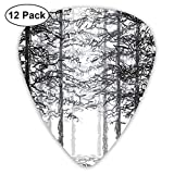 Material: ABS/Celluloid Thickness: 0.46mm * 4pcs, 0.73mm * 4pcs, 0.96mm* 4pcs; 12 Guitar Picks. Best Classic Print Guitar Picks Comes in many different styles and colors. The colorful guitar pick owns smooth edges, wear-resistant, durable, lightweigh...