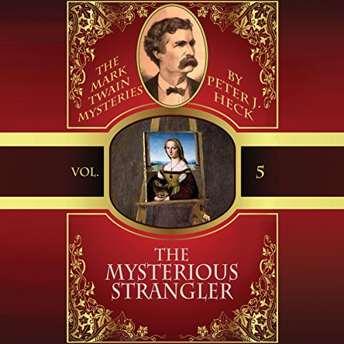 The Mysterious Strangler audiobook cover art