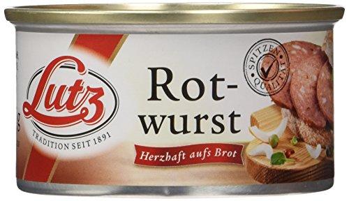 Lutz Rotwurst, 4er Pack (4 x 125 g)