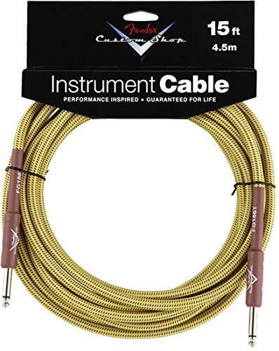 Fender Custom Shop Performance Tweed 4,5 m · Cable instrumentos