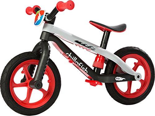 Chillafish CPMX01 BMXie-RS, Sicherlich das coolste Laufrad auf der Welt, Rot, Fussbremse