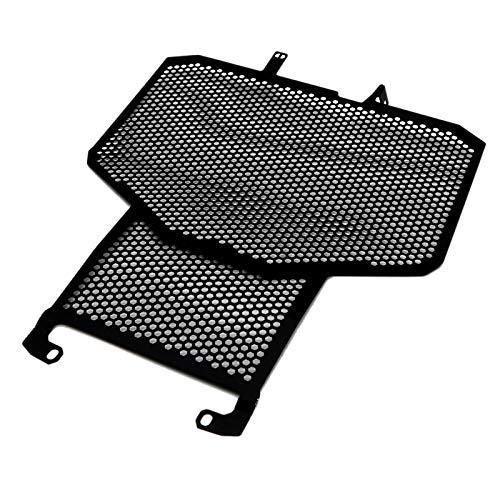 Nrpfell Protector de Rejilla de Cubierta de Parrilla del Radiador de Motocicleta Protector para X-ADV-750 X ADV 750 2017-2018, Protector del Tanque de Agua Negro