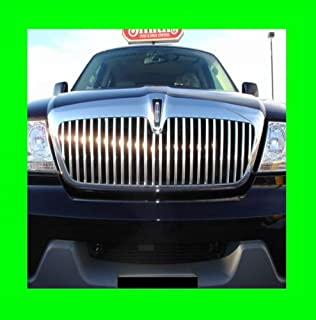 312 Motoring fits LINCOLN AVIATOR 2003-2005 CHROME GRILLE GRILL KIT 03 04 05 2004 LX LUXURY