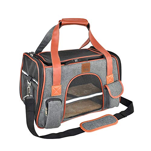 Premium Pet Carrier Airline Approved Soft Sided