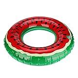 Covermason Hinchables Sandía Forma de Donuts Piscina Playa Flotador (Diámetro: 60cm)